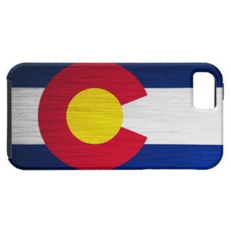 Colorado Flag Brushed iPhone 5 Cases