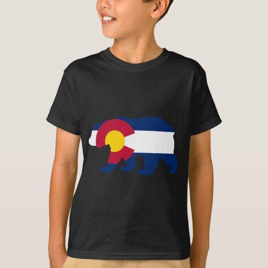 Colorado Flag California Bear T-Shirt