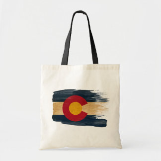 Colorado Flag Canvas Bags