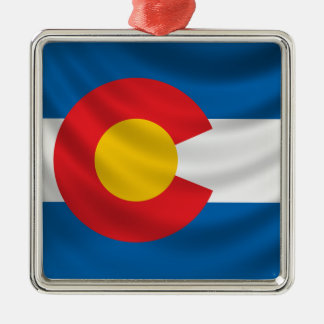 Colorado Flag Christmas Ornament