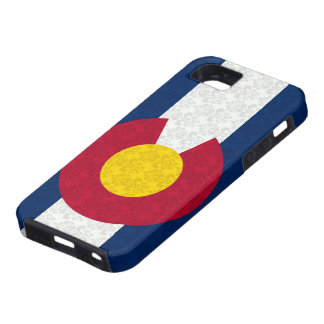 Colorado Flag Damask Pattern Vibe iPhone 5 Case