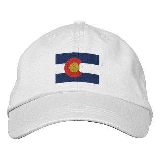 Colorado  Flag Embroidered Hat
