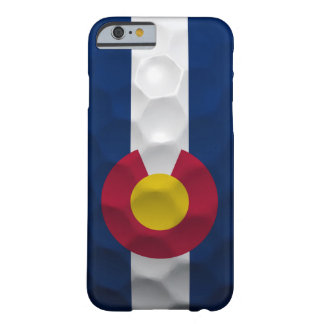 Colorado Flag Golf Ball Pattern Barely There iPhone 6 Case