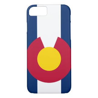 Colorado Flag iPhone 7 case Barely Case