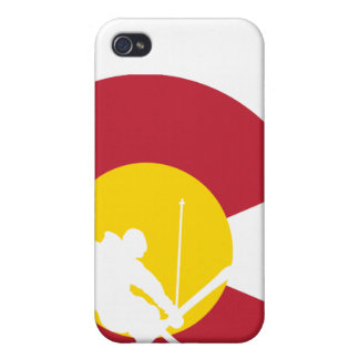 Colorado Flag iPhone - Skier - Iron Cross - Rocky Case For iPhone 4