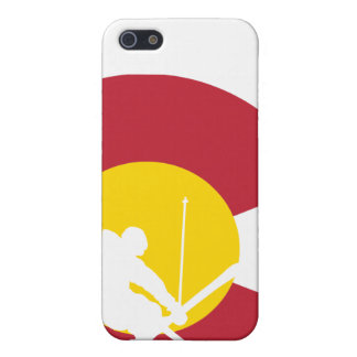 Colorado Flag iPhone - Skier - Iron Cross - Rocky Cover For iPhone 5/5S
