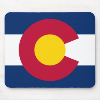 Colorado Flag Logo Mouse Mat