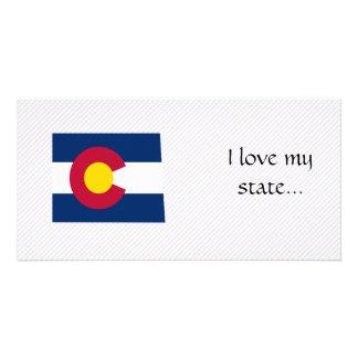 Colorado Flag Map Card