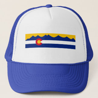 Colorado Flag Mountain Range Hat