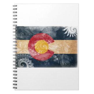 Colorado Flag Notebook