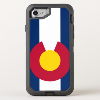 Colorado flag Otterbox Defender Iphone 7 Case