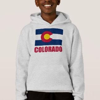 Colorado Flag Red Text