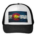 Colorado flag Rock Mountains Hat