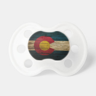 Colorado Flag Rustic Old Wood Dummy