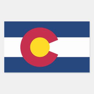 Colorado* Flag Sticker