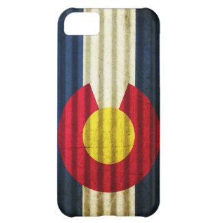 Colorado Flag Tin Roof iPhone 5C Case