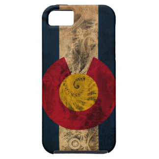 Colorado Flag Tough iPhone 5 Case