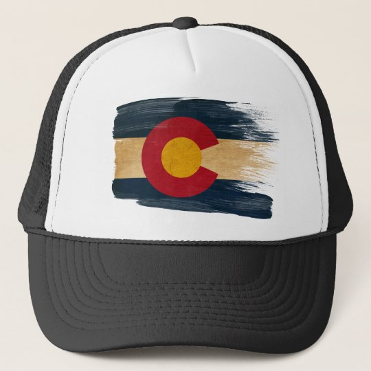 Colorado Flag Trucker Hat