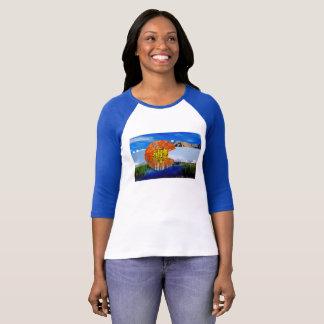 Colorado Flag Women's Raglan T-Shirt