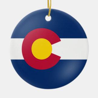 Colorado Flair Christmas Ornament