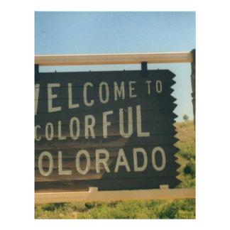 Colorado Personalized Flyer