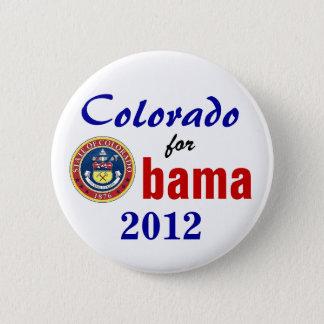 Colorado for Obama 2012 6 Cm Round Badge