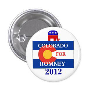 Colorado for Romney 2012 Buttons
