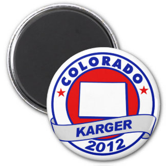 Colorado Fred Karger Refrigerator Magnets