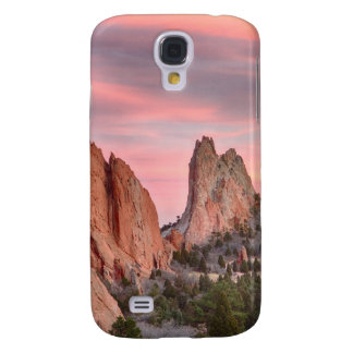 Colorado Garden of the Gods Sunset View Galaxy S4 Case