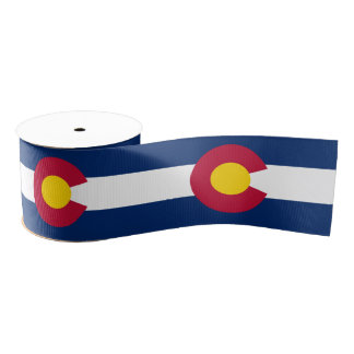 Colorado Grosgrain Ribbon