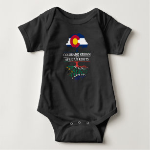 Colorado Grown with South African Roots   South Baby Bodysuit