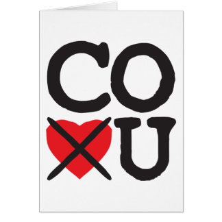Colorado Hates You Greeting Card