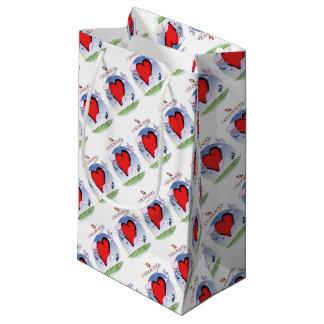 colorado head heart, tony fernandes small gift bag