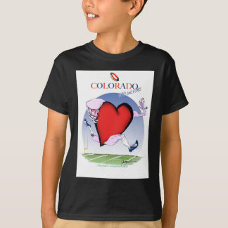colorado head heart, tony fernandes T-Shirt