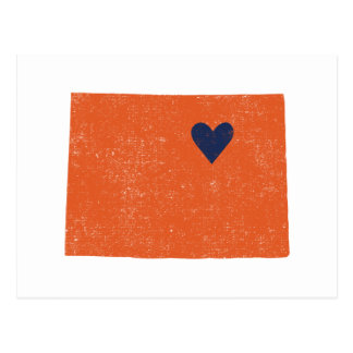 Colorado Heart postcard - Customizable!