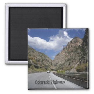 Colorado Highway  Magnet