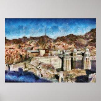 Colorado - Hoover Dam Posters