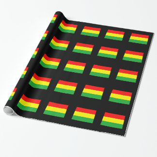 Colorado in Rasta Colors Wrapping Paper