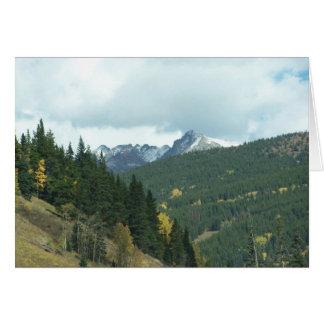 Colorado in the Fall Card