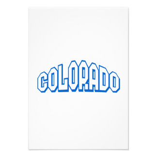 Colorado Personalized Invitations