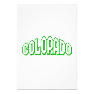 Colorado Custom Invite
