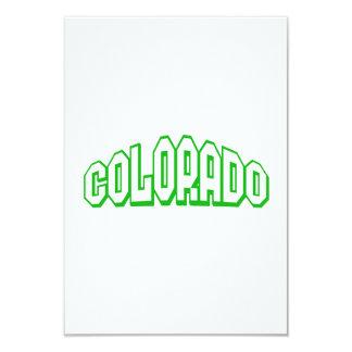 "Colorado 3.5"" X 5"" Invitation Card"