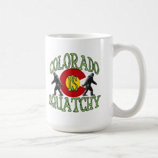 Colorado Is Squatchy Basic White Mug