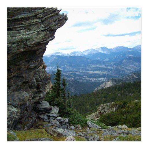 Colorado Landscape Invitation