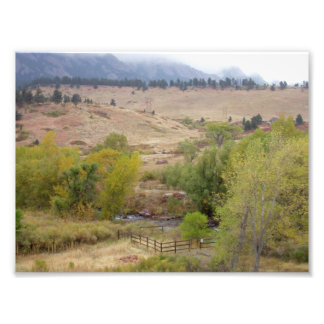Colorado Landscape Works Photo Print