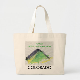 Colorado large tote bag by MAXarT