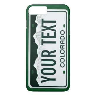 Colorado license plate cell phone case