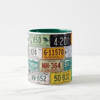 Colorado License Plate Mug
