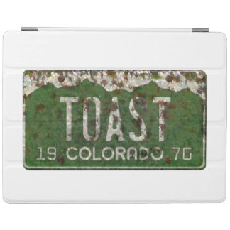 Colorado License Plate Toasted Autos iPad  2/3/4 iPad Cover