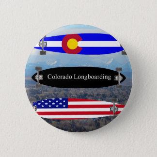 Colorado Longboarding 6 Cm Round Badge